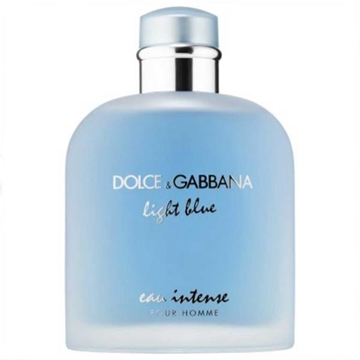 ادو پرفیوم مردانه دولچه گابانا مدل Light Blue Eau Intense Pour Homme حجم 100 میلی لیتر Dolce And Gabbana Light Blue Eau Intense Pour Homme Eau De Parfum For Men 100m