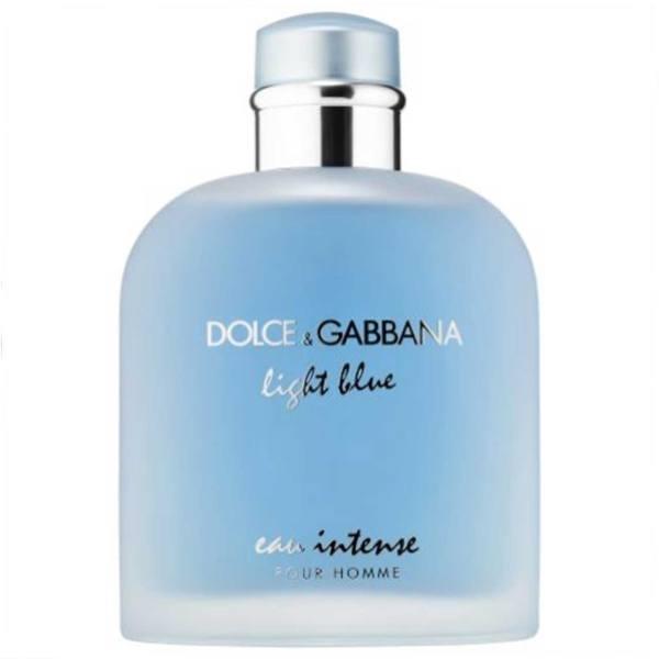 ادو پرفیوم مردانه دولچه گابانا مدل Light Blue Eau Intense Pour Homme حجم 100 میلی لیتر Dolce And Gabbana Light Blue Eau Intense Pour Homme Eau De Parfum For Men 100m