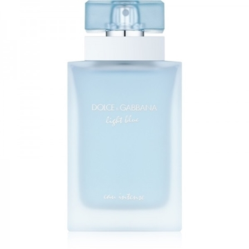 ادو پرفیوم زنانه دولچه گابانا مدل Light Blue Eau Intense حجم 100 میلی لیتر Dolce And Gabbana Light Blue Intense Eau De Parfum For Women 100ml