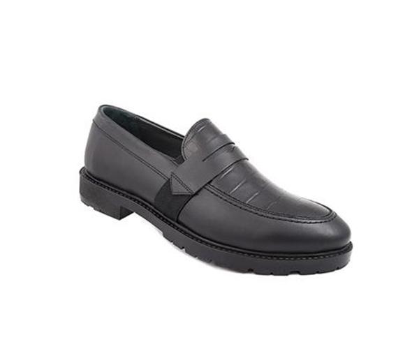 کفش مردانه شیفر مدل 7191A مشکی