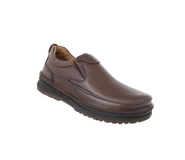 کفش مردانه شیفر مدل 7186A قهوه ای
