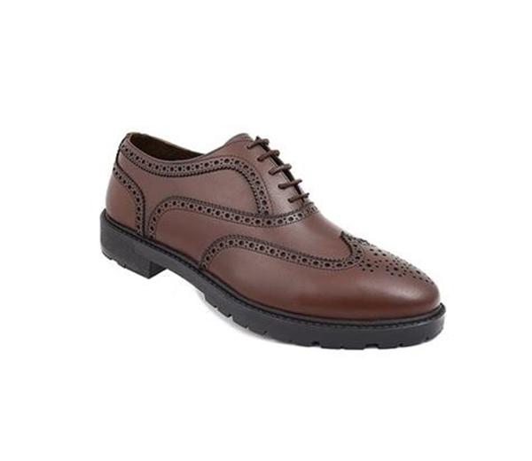 کفش مردانه شیفر مدل 7174A قهوه ای