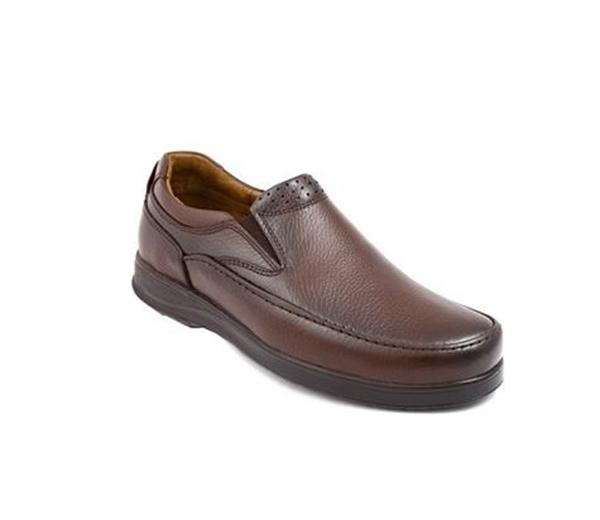 کفش مردانه شیفر مدل 7172A قهوه ای