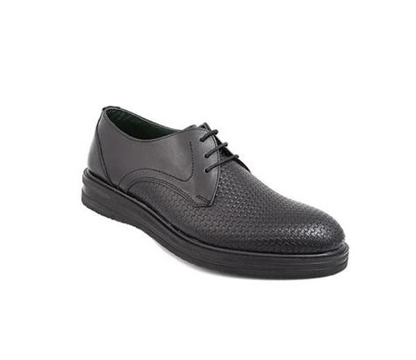 کفش مردانه شیفر مدل 7170A مشکی