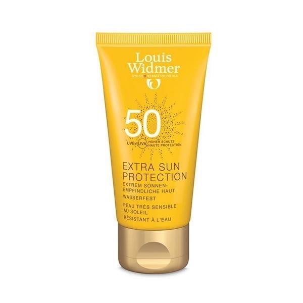 کرم ضد آفتاب محافظت کننده قوی با spf 50 بدون عطر لویی ویدمر حجم 50 میلی لیتر