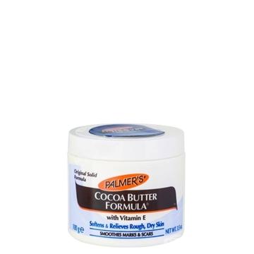 تصویر کرم کره کاکائو نرم کننده مناسب پوست خشک پلمرز وزن 125 گرم
