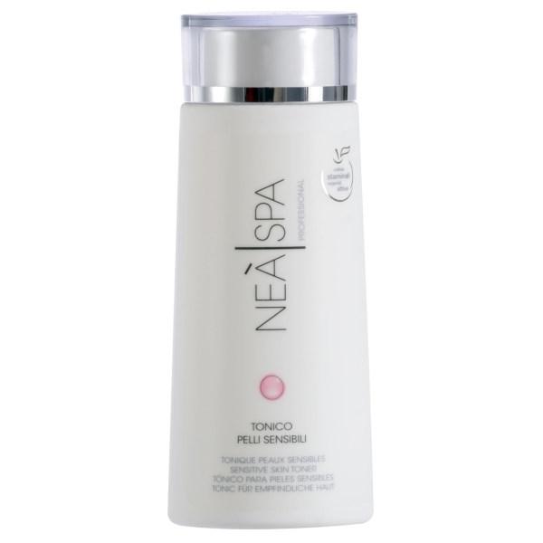 تونر پاک کننده آرایش صورت نئا اسپا مدل Sensitive Skin Toner حجم 200 میلی لیتر