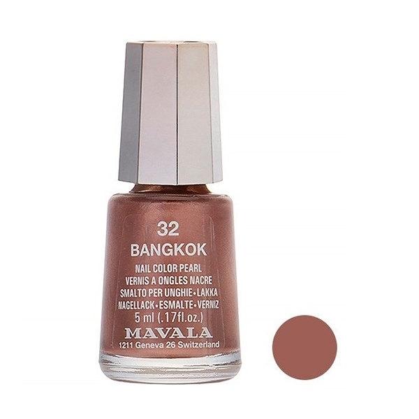 لاک ناخن ماوالا مدل BANGKOK شماره 32