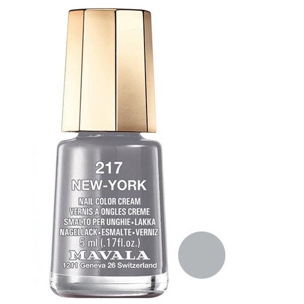 لاک ناخن ماوالا مدل NEW YORK شماره 217