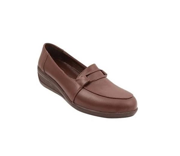 کفش زنانه شیفر مدل 5279A قهوه ای