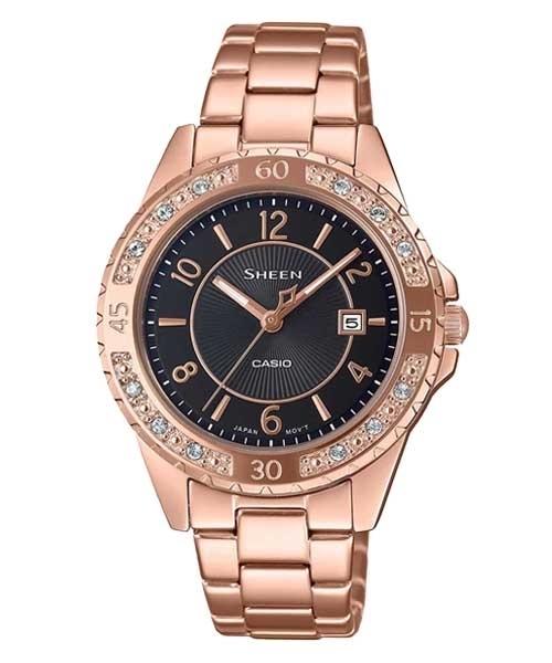 ساعت مچی کاسیو مدل SHE-4532PG-1AUDF